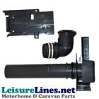 C250 260 waste away pipe assy